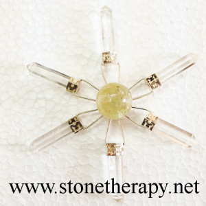 Crystal 6 point Energy Generator