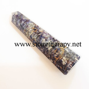 Blue Aventurine facetted massage wand