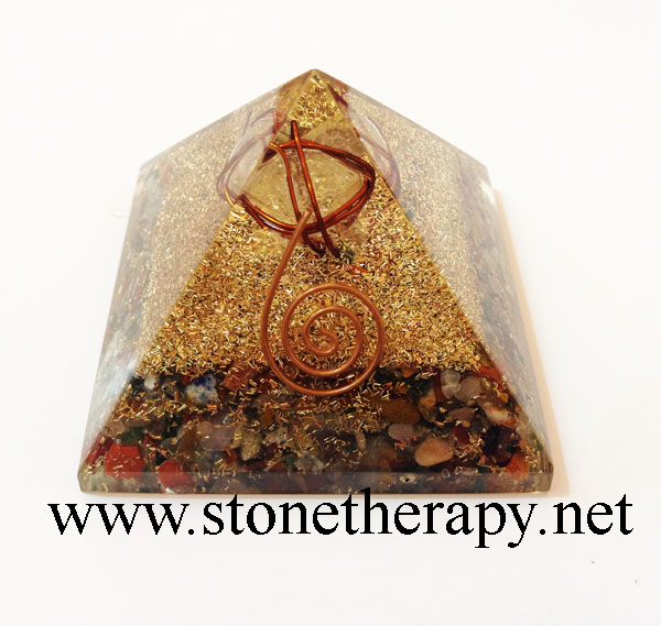 Orgone-Mix-Stones-Pyramid-With-Crystal-Merkaba-Star