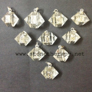 ClearCrystalQuartzHerkimerDiamonds-Pendant copy