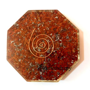 Red Jasper Orgone Octagon