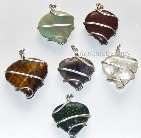 Mix-Gemstone-Wrapped-Pendan