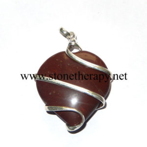 Red-Jasper-Heart-shape-Wrap