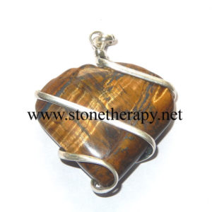 Tiger-Eye-Heart-Shape-Wrapp